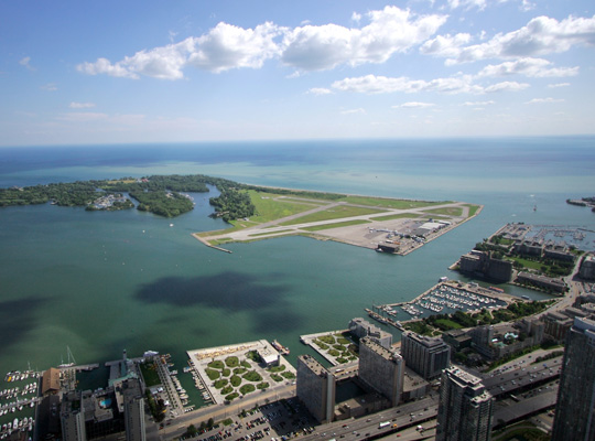 Billy Bishop Toronto City Airport - Billy Bishop Airport Limo Toronto