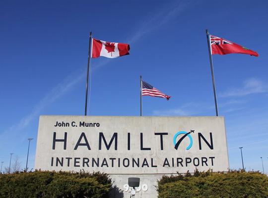 Hamilton International Airport - Hamilton Airport Limo